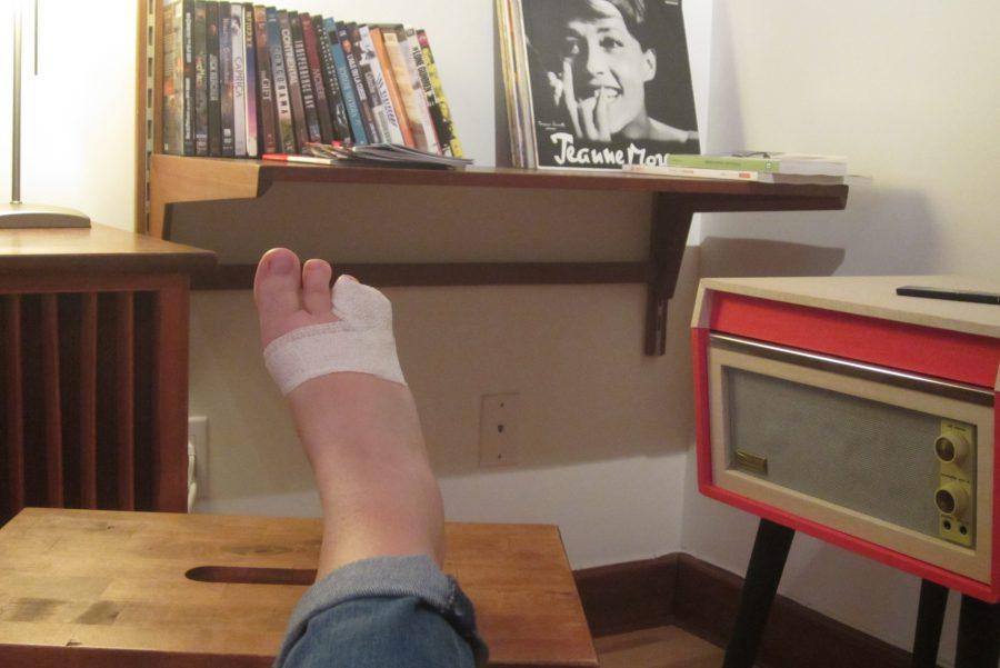 Ceci est la première et dernière fois que je poste une photo de pied sur internet.